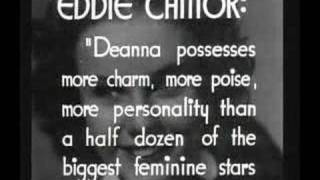 Deanna Durbin's trailer (Three Smart Girls)