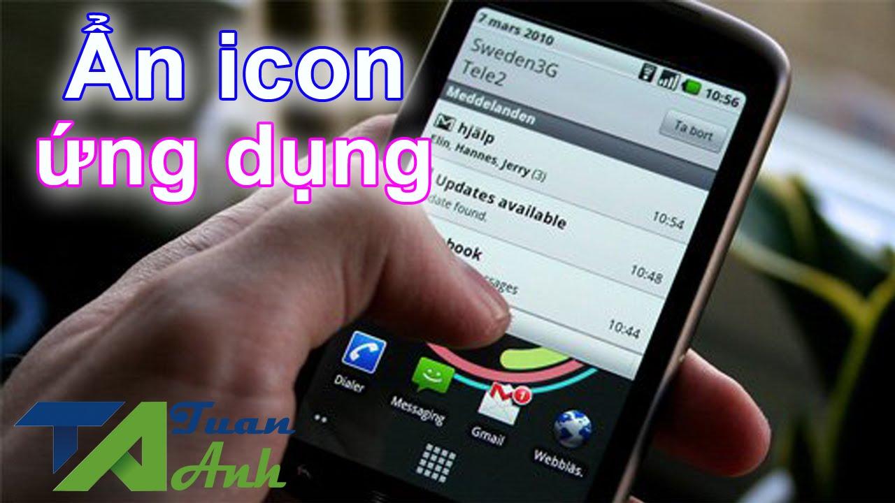 Cách ẩn icon ứng dụng trên thanh thông báo trạng thái của ứng dụng theo dõi