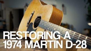 Martin D-28 restoration with Lars Dalin