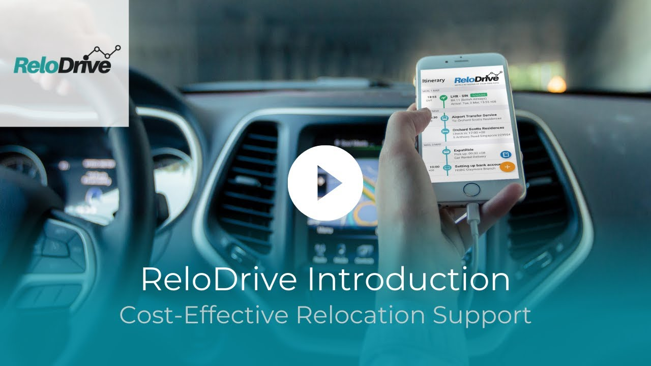 ReloDrive - Relocation Support - Settling-in Service