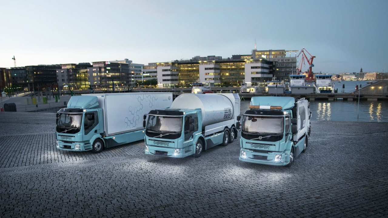 Volvo Trucks Our First Fully Electric In Action