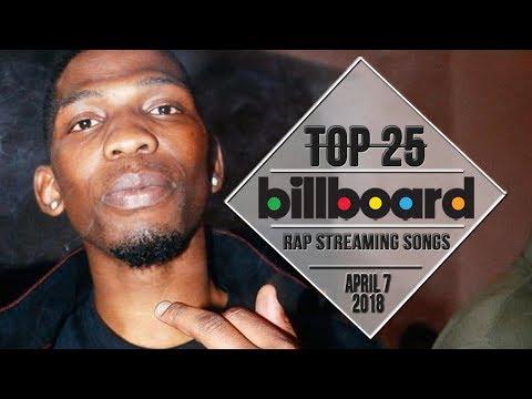 Top 25 • Billboard Rap Songs • April 7, 2018 | Streaming-Charts