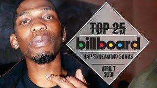 Baixar Top 25 • Billboard Rap Songs • April 7, 2018 | Streaming-Charts