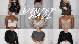 WINTER TRY-ON CLOTHING HAUL | Maria Bethany