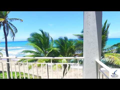 Ocean Front Condo 2 Bed 3 Bath Penthouse Cabarete, Dominican, Blue Sail Realty DIR 1 849 283 4906