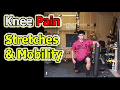 Knee Pain Stretchs and Foam Rolling Corrective Exercise