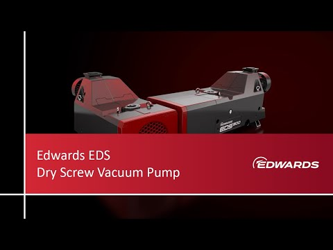 EDS dry screw vacuum pump. State-of-the-art dry vacuum technology made simple.