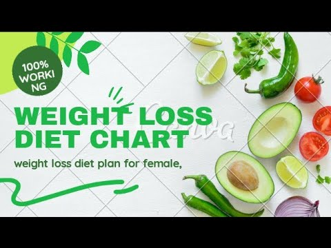 weight loss diet chart | weight loss diet plan for female | by human guide