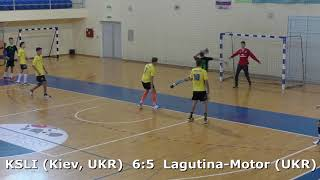 Handball. KSLI (Kiev, UKR) - Lagutina-Motor (UKR). U16 boys. TROPHY-2018. Smederevo.