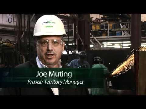 Praxair's StarFlame C fuel gas - an acetylene alternative