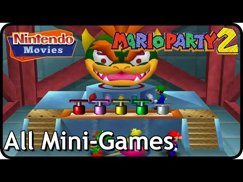 Mario Party 2 - All Mini-Games