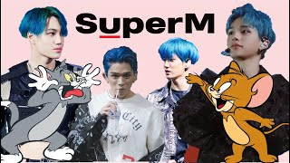SuperM's chaotic Tom & Jerry duo (Lucas Kai)