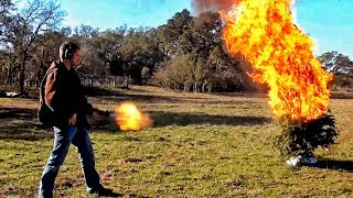 Калаш поджигает ёлку [НГ на РР - 2012] | Разрушительное ранчо | Перевод Zёбры