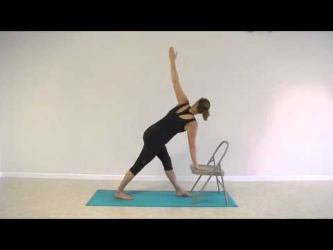 Standing Chair Yoga Flow