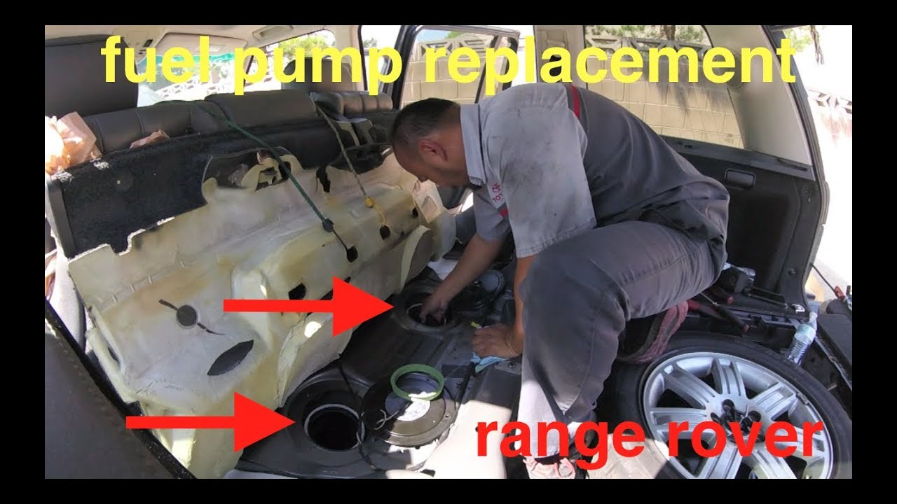 hight resolution of  no start cranks over and over fuel pump replacement range rover fix it angel