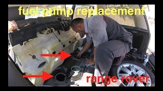 [no start] Cranks over and over (FUEL pump replacement) Range Rover √ Fix It Angel