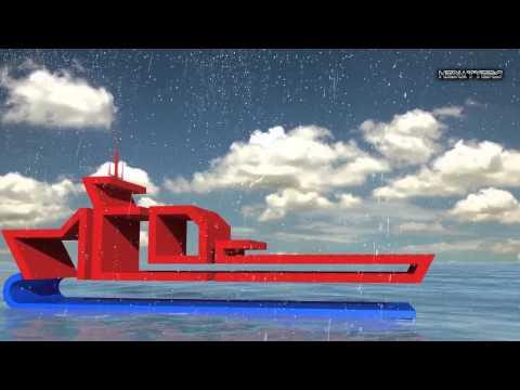 Marine engeneering diving services video