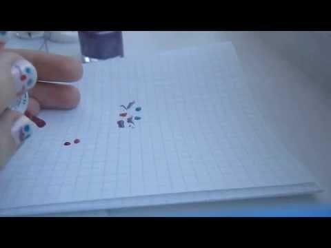 рисунок для ногтей на праздник