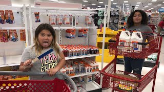 SLIME SUPPLY SHOPPING AT TARGET BACK TO SCHOOL SHOPPING AT TARGET
