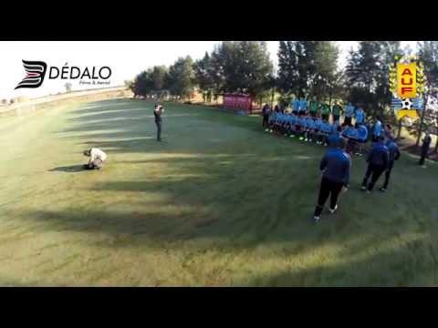 Seleccion Uruguaya sub 20 | Clip backstage FOTO OFICIAL  | AUF - DEDALO