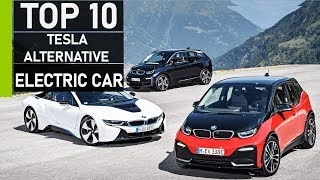 Top 10 Tesla Alternative Electric Cars with Good Battery Range