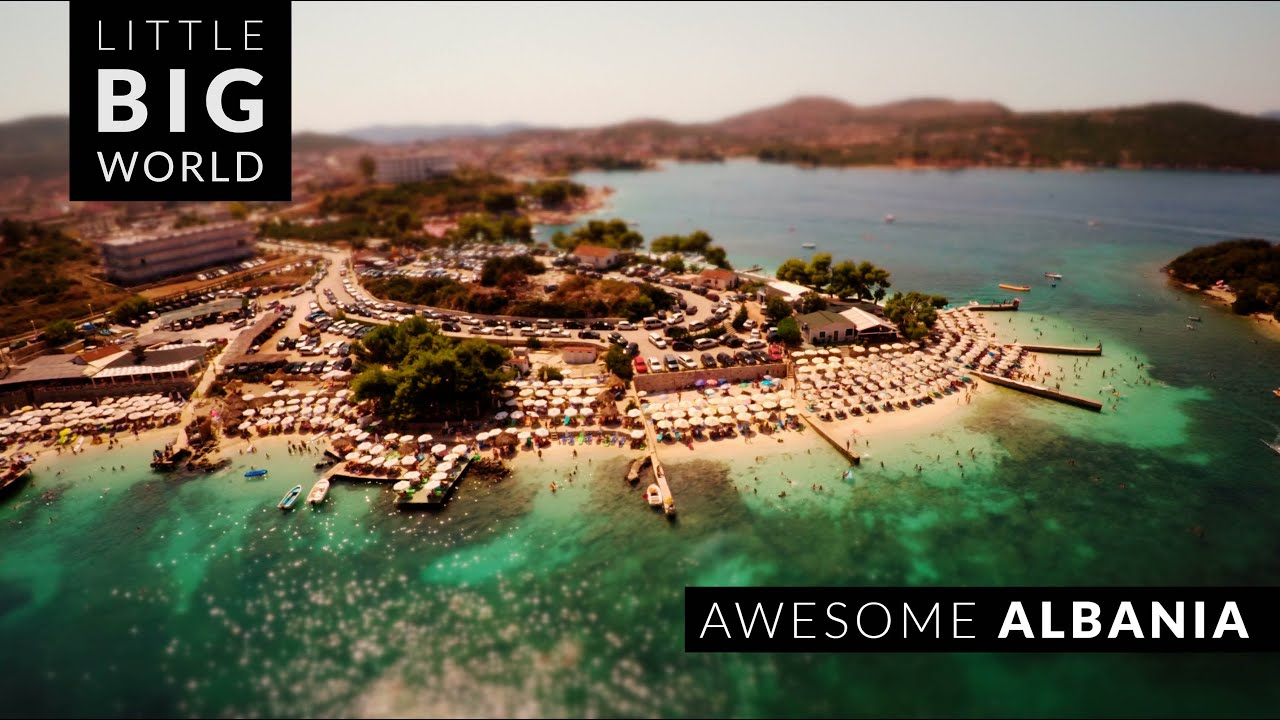 Awesome Albania (4k - Time Lapse - Aerial - Tilt- Shift)