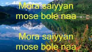 Mora Saiyyan, khamaj, with lyrics by Smit Chandorkar