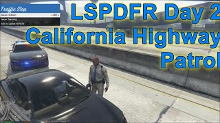 GTA 5 LSPDFR Police Mod Day 2 | California Highway Patrol | New CHP Uniforms & Car Textures