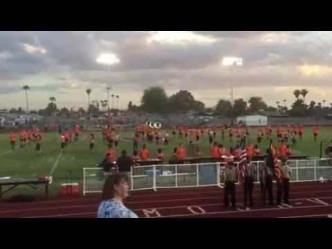 Opening Performance at Moon Valley High School