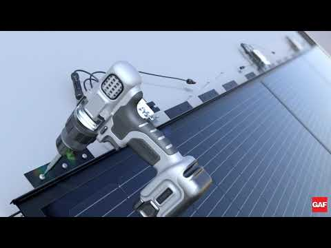 DecoTech® Solar Roofing Installation from GAF