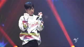 [구준회 직캠] 190309 정선 '평창 패럴림픽' 1주년 축공 : '사랑을 했다' JU-NE 준회 FOCUS