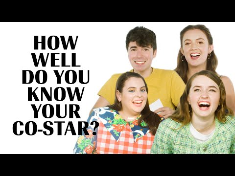 The Cast of 'Booksmart' | How Well Do You Know Your Co-Star? | Marie Claire