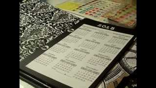 My almost free planner that I made out of free printables & A5 ring binder