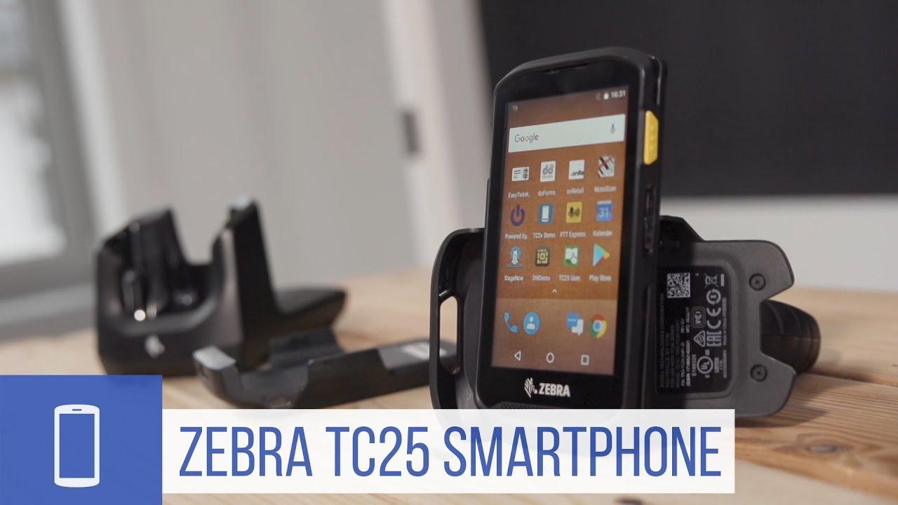 Zebra TC25: Robustes Smartphone für Unternehmen im Detail (Werbung
