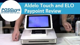 The elo paypoint is an all in one stand for ipad with built receipt printer, cash drawer, barcode scanner, and msr. it can be used along aldelo touch...
