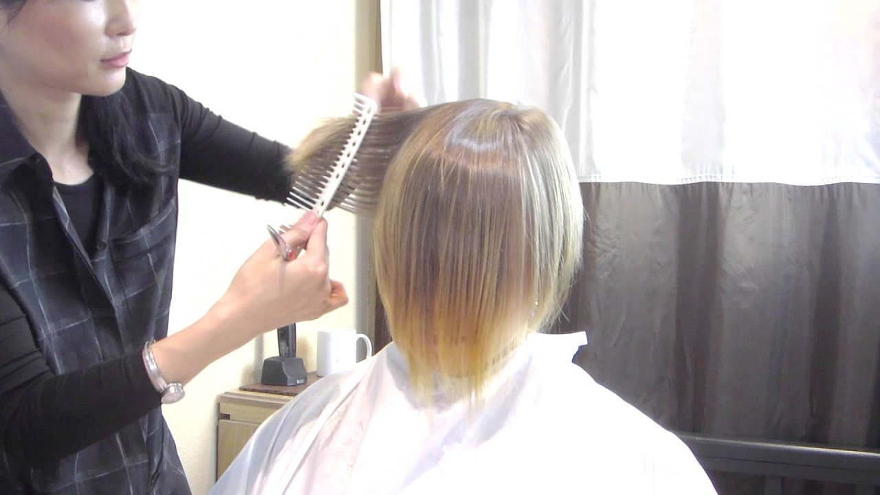 Dry Cut Tutorial by Mika Fowler / How To Fix a Bad Haircut