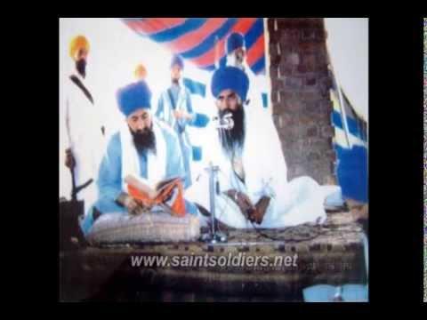 Giani Thakur Singh Ji: Sant Jarnail Singh Ji's 1st katha & Sant Kartar Singh Ji's parakh