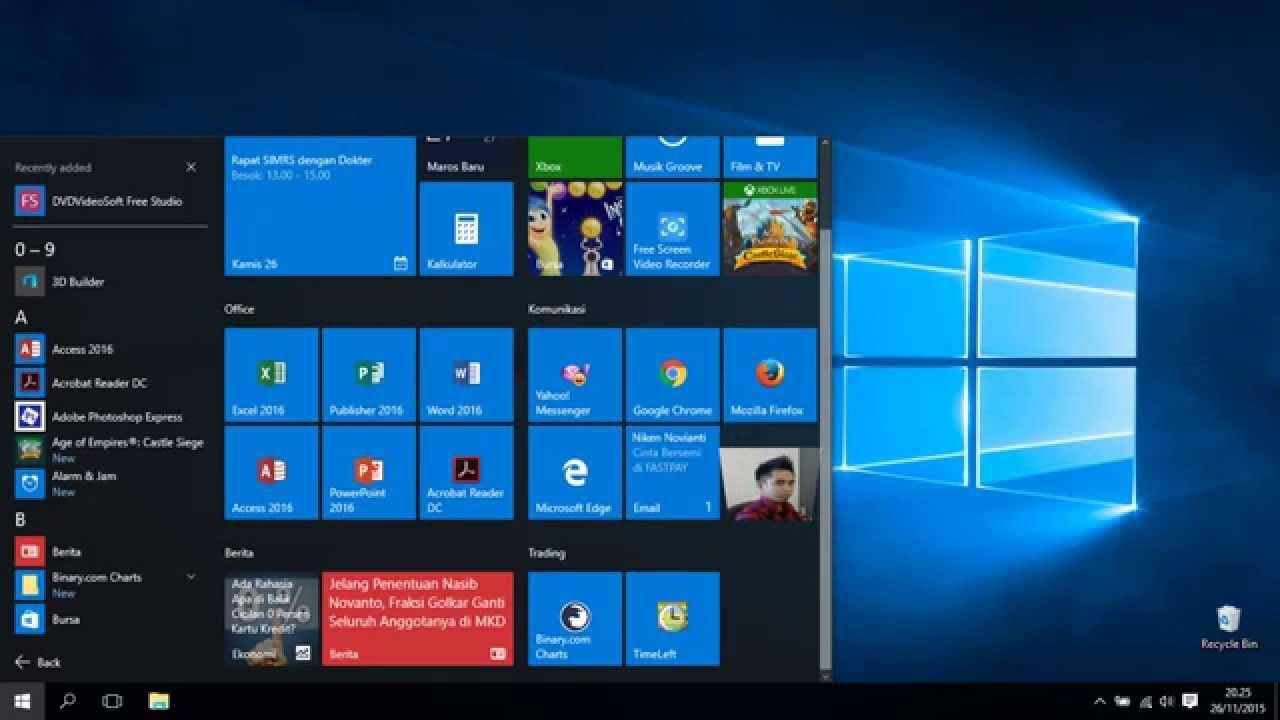 Kerennya windows 10 !!! Kelebihan Windows 10 dibandingkan windows ...