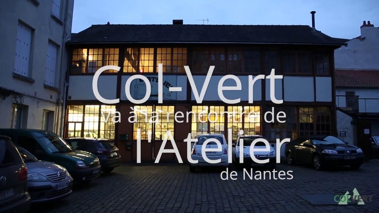 Visite de Col-Vert à l'Atelier de Nantes (Bellamy 47)