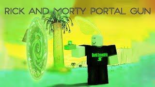 Roblox Script Showcase Episode#1200/Rick And Morty Portal Remote