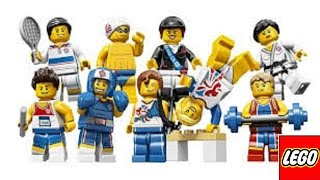 LEGO London Olympics team GB sports minifigures price guide boxing tennis etc