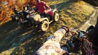 Motorcycle vs Quad Bike / ATV (Off Road Extreme Enduro Ride 2016)