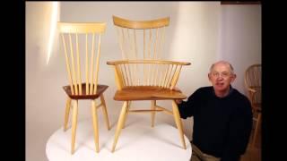 Windsor Chair Plans: Minimalist Windsors