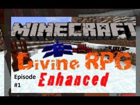 Minecraft: Devine RPG Modpack Gameplay: Episode 1