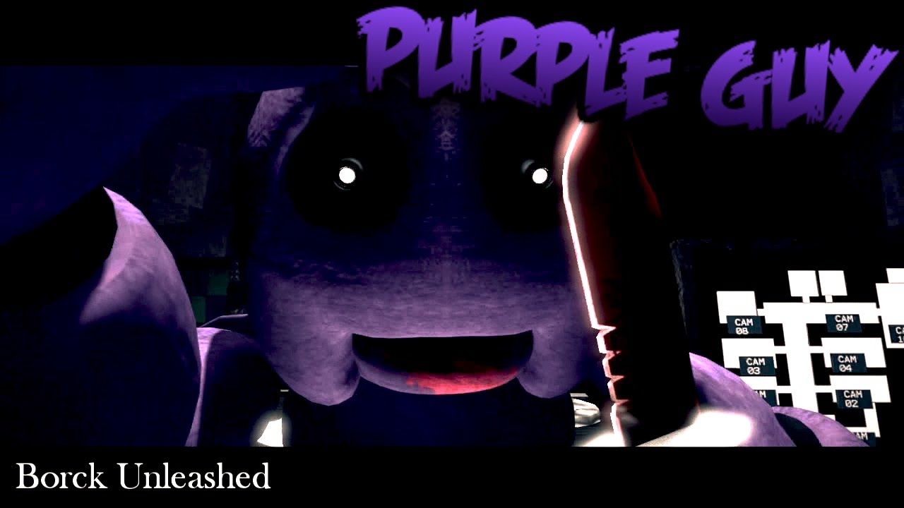 Five nights at freddy s 2 purple guy death scene jumpscare