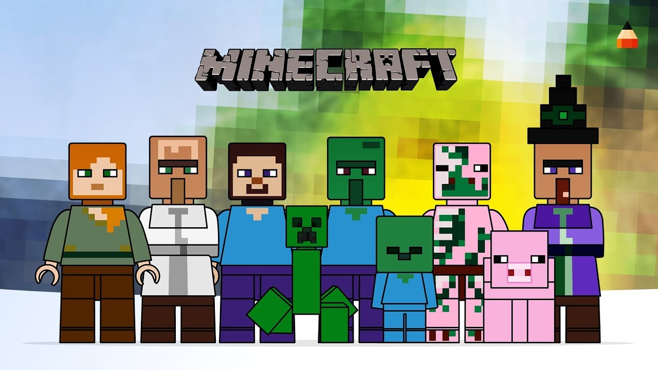 youtube minecraft coloring pages - photo#30