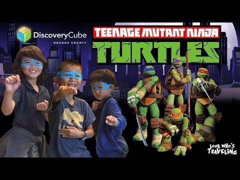 Teenage Mutant Ninja Turtle Exhibit (Discovery Cube OC): Look Who's Traveling