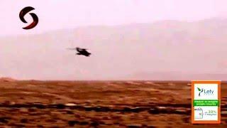 Сирийцы любуются российским вертолётом