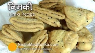 Nimki Recipe  Video  - Crispy Nimki Namkeen - Maida Namkeen Nimki