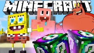 ПЕРЕПОЛОХ В БИКИНИ БОТТОМ! [Minecraft Lucky Block Modded Mini-Game]